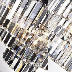 6-Light Luxury Modern Contemporary Crystal Chandelier Ceiling Light Pendant