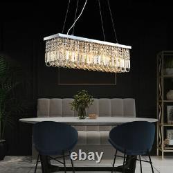 Aglow INT Modern Bar Ceiling Pendant Chandelier Raindrops K9 Crystal