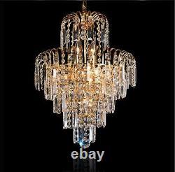 Elegant Crystal Chandelier Modern Ceiling Light Downlight Pendant Lighting AU