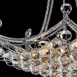 Fashion Crystal Glass Chandelier Lustre Lighting Fixtures Ceiling Light Lamp