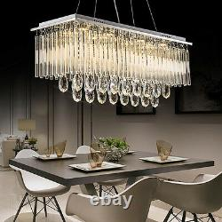 Genuine K9 Crystal Dimmable+3 Colours+Remote Ctrl LED Ceiling Light Chandelier