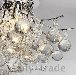 K9 Crystal 40 cm Chandelier Ceiling Lighting with 3 Lights Dinning Modern Living