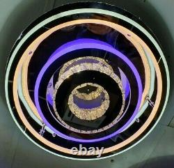 LED Modern Crystal Ceiling Light Bed Room Living Room Flush Chandelier Lamp