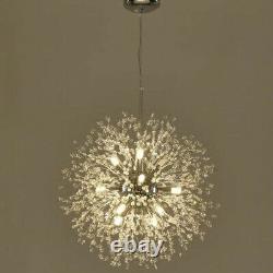 Modern Crystal Light LED Ceiling Chandelier Lighting Large Pendant Hanging Lamp