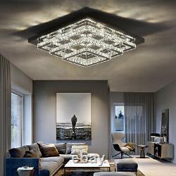 Modern Crystal XXL LED Cascading Ceiling Light Pendant Lamp Chandelier Fixtures