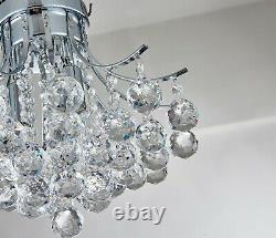 Modern Genuine Crystal Chandelier, Ceiling Light for Bedroom Living room lights