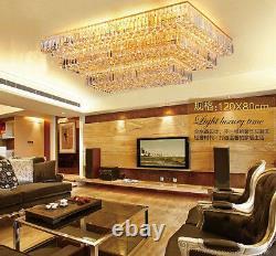 Modern LED Crystal Ceiling Fixture Lamps Chandelier living room Lighting #0145