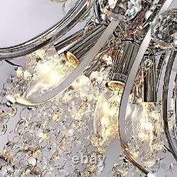 Modern Luxury Crystal Chandelier Pendant Ceiling Light Lamp Lighting AU Standard