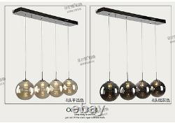 Modern glass ball Bedroom Fixture Lamp LED Crystal Ceiling Light Living Room