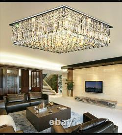 NEW Modern K9 Clear Crystal Ceiling Light Pendant Lamp Chandelier Lighting