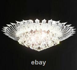 RGB color changing led crystal chandelier ceiling lamp light RC D60cm Andromeda