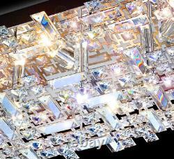 XL 62x40cm crystal ceiling light ceiling lamp chandelier 9x LED G9 bulbs Arjuna