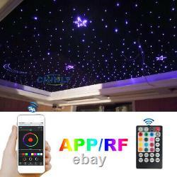 32w Fiber Optic Light App Control Twikle Star Ceiling Lights 5m 400pcs Câble Led