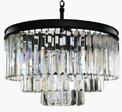 6-luxury Luxury Moderne Cristal Lustre Lustre Pendentif De Plafond Lumière