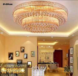 Cour Européenne Style Led Lampes De Plafond En Cristal Lustres Lighting Fixture Hot