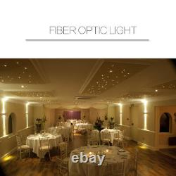 Dmx512 Fibre Optique Star Light Kit Lampe Plafond 75w Rgb Optique 5m1000pcs 0.75mm