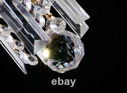 Élégant Lustre En Cristal Moderne Plafond Lumière Downlight Pendant Lighting Au