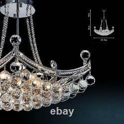 Fashion Crystal Glass Lustre Lustre Luminaires Plafonnier Lampe