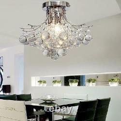 K9 Crystal 40 CM Chandelier Plafond Lumineux Avec 3 Lumières Dinning Modern Living