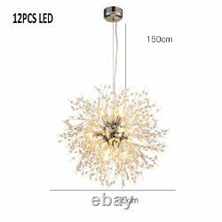 Lampe Suspendue Moderne De Lustre De Lustre De Led De Cristal