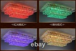 Lampes Modernes De Plafond En Cristal Lustre Salon Luminaire #0145