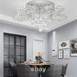 Led Cristal Plafond Lumière Lustre Lampe Cuisine Lit Moderne Salon Lumières