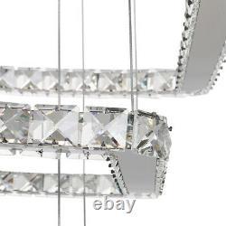 Led Cristal Plafond Lumière Moderne Pendentif Lustre Lampe Cuisine Chambre Hallway