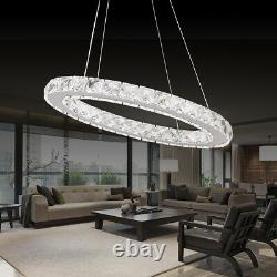 Led Crystal Oval Ring Pendentif Light Chandelier Lamp Fixture Home Decor Led Crystal Oval Ring Pendant Light Chandelier Lamp Fixture Home Decor Led Crystal Oval Ring Pendant Light Chandelier Lamp Fixture Home Decor Led Crystal Oval