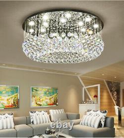 Led Moderne K9 Clair Cristal Plafonnier Lampe Pendentif Lustre Fixations De Lustre