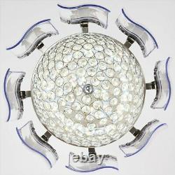 Lumière Moderne De Plafond De Plafond De Ventilateur Led Lustre Lumière De Plafond De Télécommande
