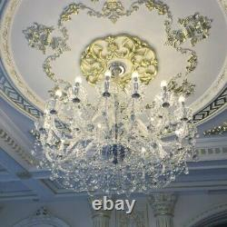Lustre En Cristal Moderne Pendentif Lampe Lobby Éclairage De Plafond Luminaires Led Light