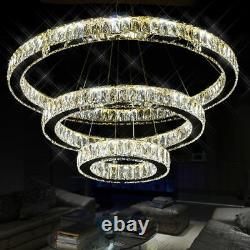 Lustre Rond Moderne De Lampe De Lampe De Pendentif D'anneau De Led De Galaxie Grande Galaxie Moderne