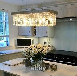 Luxury Modern Crystal Chandelier Plafond Lumière