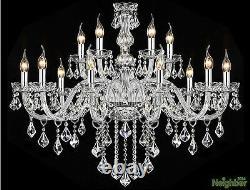 Moderne Cristal Lampadaire Led Lampadaire Lampadaire De Plafond Luminaire De Hall