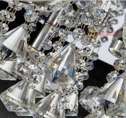 Moderne Led K9 Cristal Plafonnier Lampes Pendentif Lumière Salon Chandelier