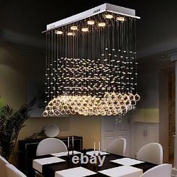 Moderne Lustre En Cristal 8 Lumières Lustre Artistique Plafond Lumières Salle À Manger