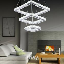Moderne Lustre Led Led Pendentif Lampe De Plafond Ronde Lumière Suspendu