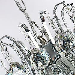 Moderne Luxury Crystal Lustre Pendentif Plafond Lampe De Lumière Éclairage Au Standard