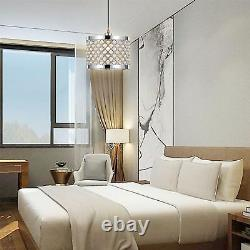 Nouveau Modern Silver Moda Crystal Bead Luxury Ceiling Pendentif Light Shade & Fitting