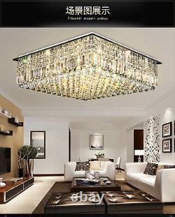 Nouvel Éclairage Moderne De Lustre Clair De Lampe De Lampe De Pendentif De Plafond De Cristal De K9