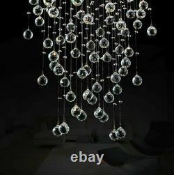Nouvelle Lampe De Lustre En Cristal De Raindrop Moderne Pendentif Light Lighting Led