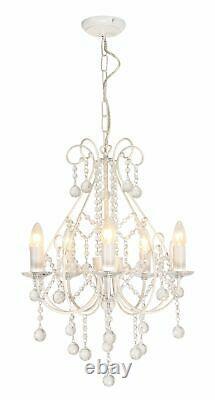 Paire De Lustres Modernes De Cristal Dans Le Salon Blanc De Lumières De Pendentif De Plafond