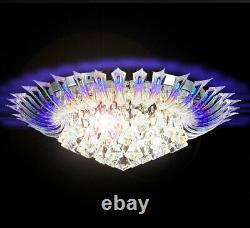 Rgb Changement De Couleur Led Lustre Lustre Lampe De Plafond Lumière Rc D60cm Andromeda