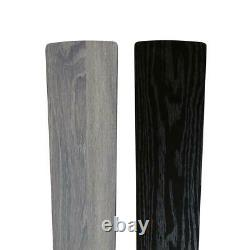 River Of Goods Modern Crystal Chandelier 52 In. Ventilateur De Plafond D'argent De Led