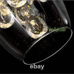 Verres À Vin En Cristal Moderne Lustres De Plafond Chandelier Lampe Pendentif Led Éclairage