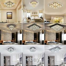 XL Moderne Led Cristal Plafonnier Lumières Pendentif Chandelier Lampe Chambre À Manger Salle À Manger
